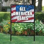 Patriotic signs